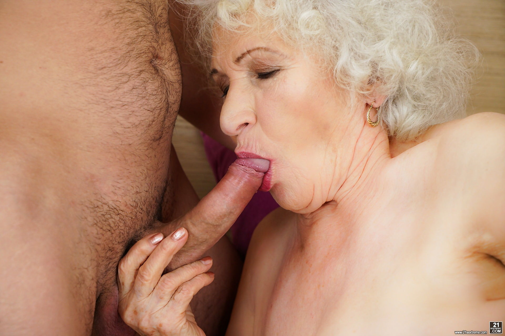 Busty granny norma shared a bed with young rob - part 1881