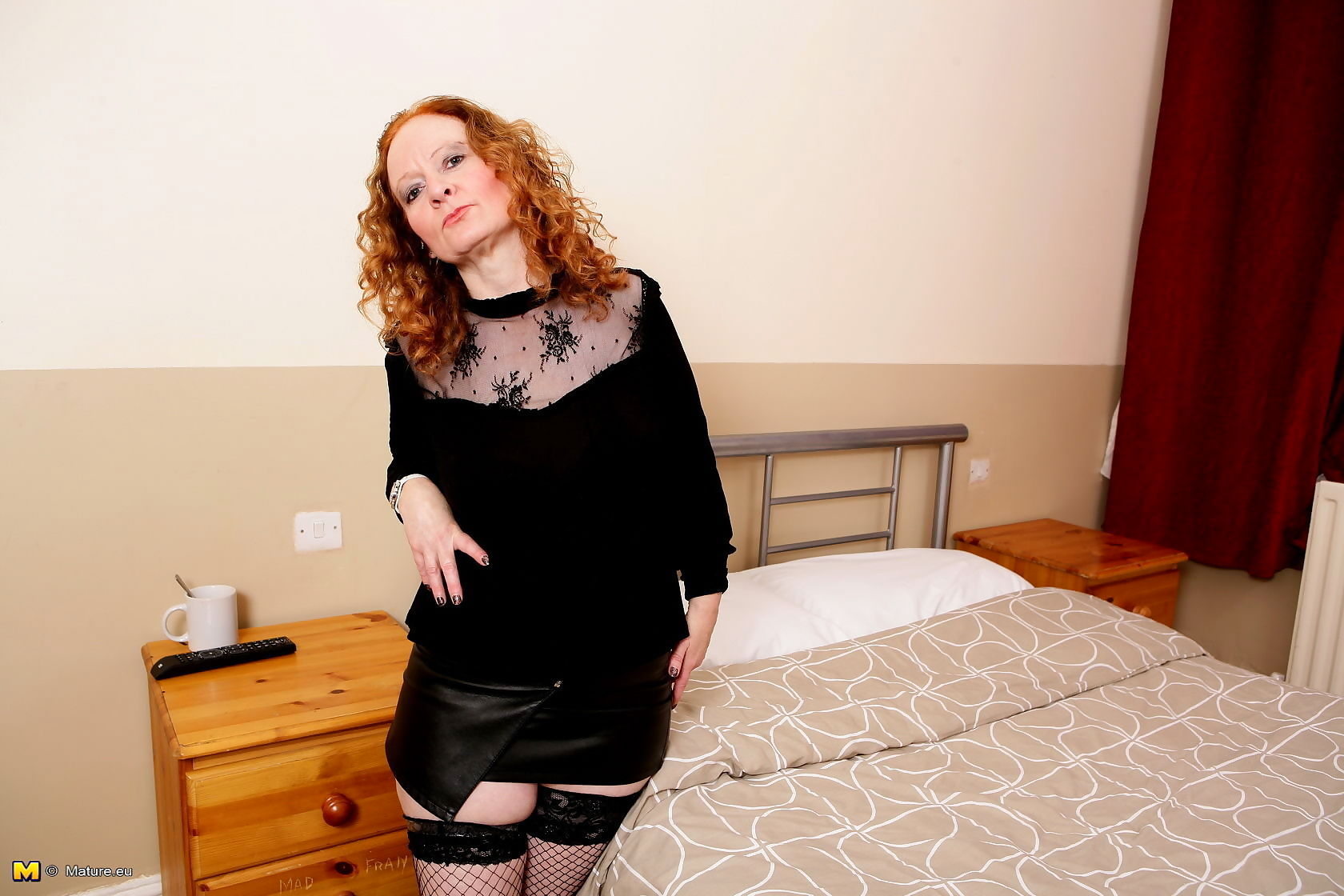Naughty red mature lady from the uk having a ball - part 3512