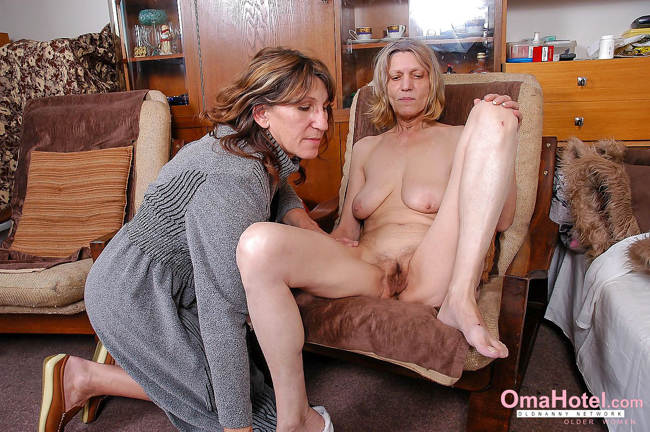 Hairy grandma and mature lesbian - part 26