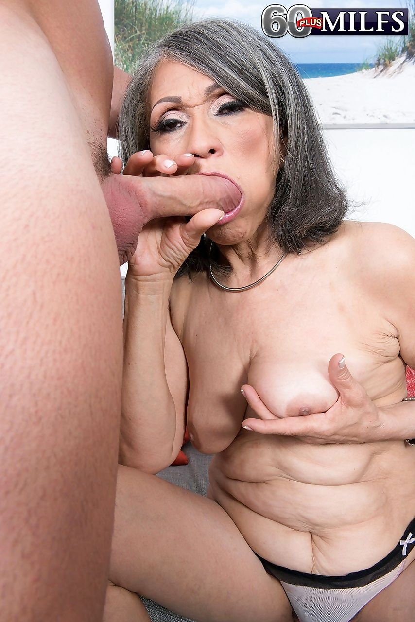 Asian granny kokie del coco gets her hairy muff stuffed with a studs cock - part 1553