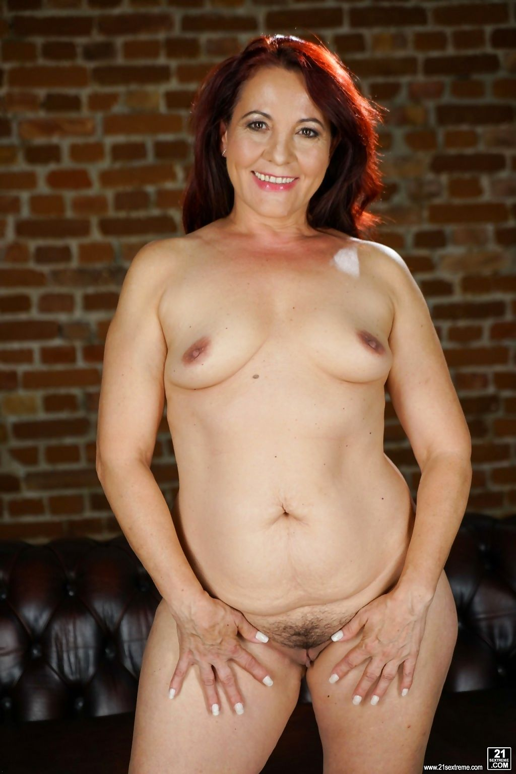 redhead granny red mary is masturbating - part 1354