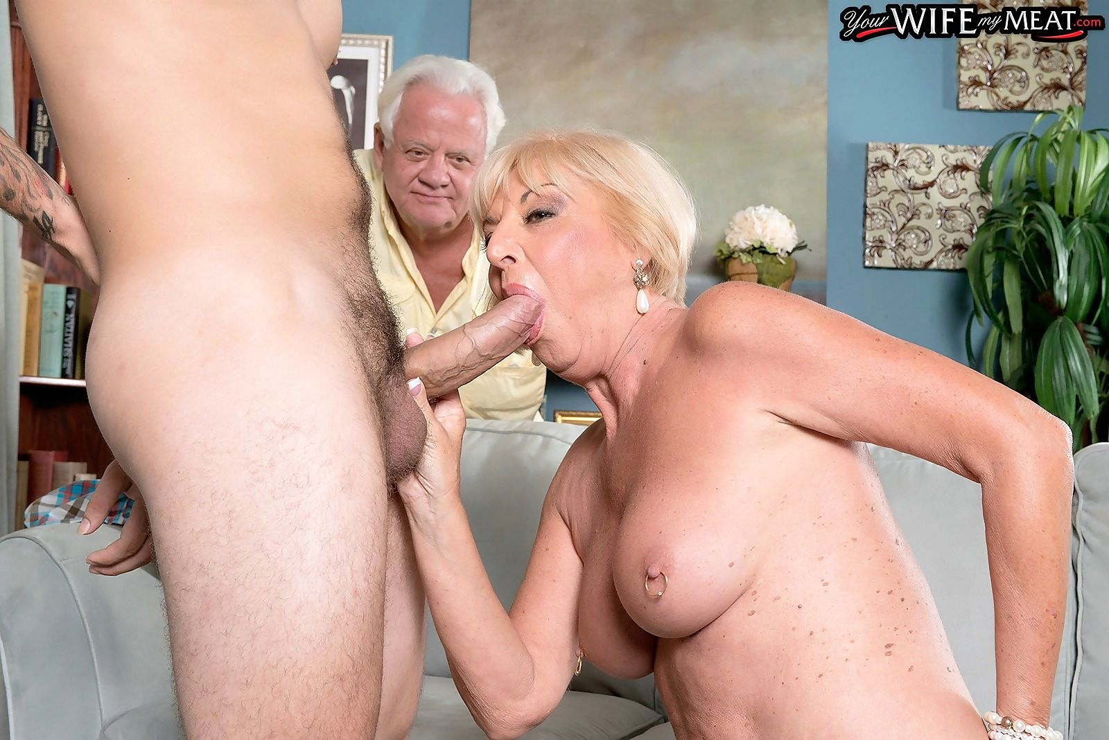 65yearold wife cuckolding her hubby in live sex show - part 3144
