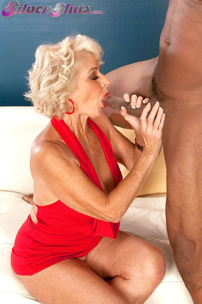Big boobed granny Georgette Parks sucks and fucks and BBC like a trooper