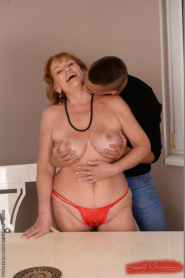 Sally lusty busty amateur redhead granny having sex with a young - part 4055