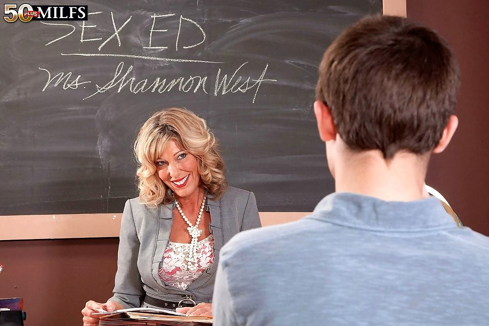 Hot mature teacher shannon west teasing and fucking guy - part 4861