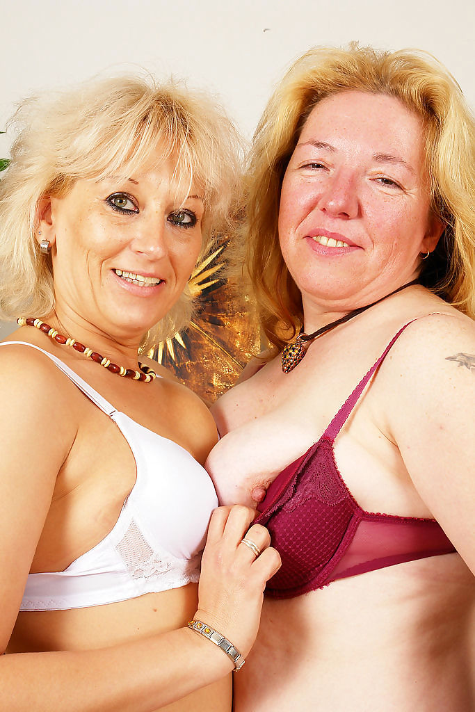 Hot and naughty lesbian grannies licking each other pussy - part 4323