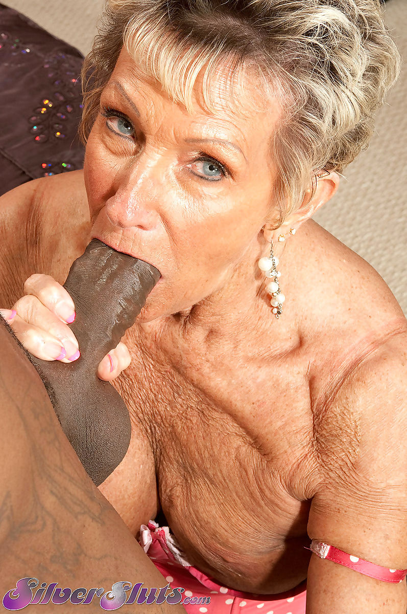 Oldest gilf gets her big black cock - part 1763