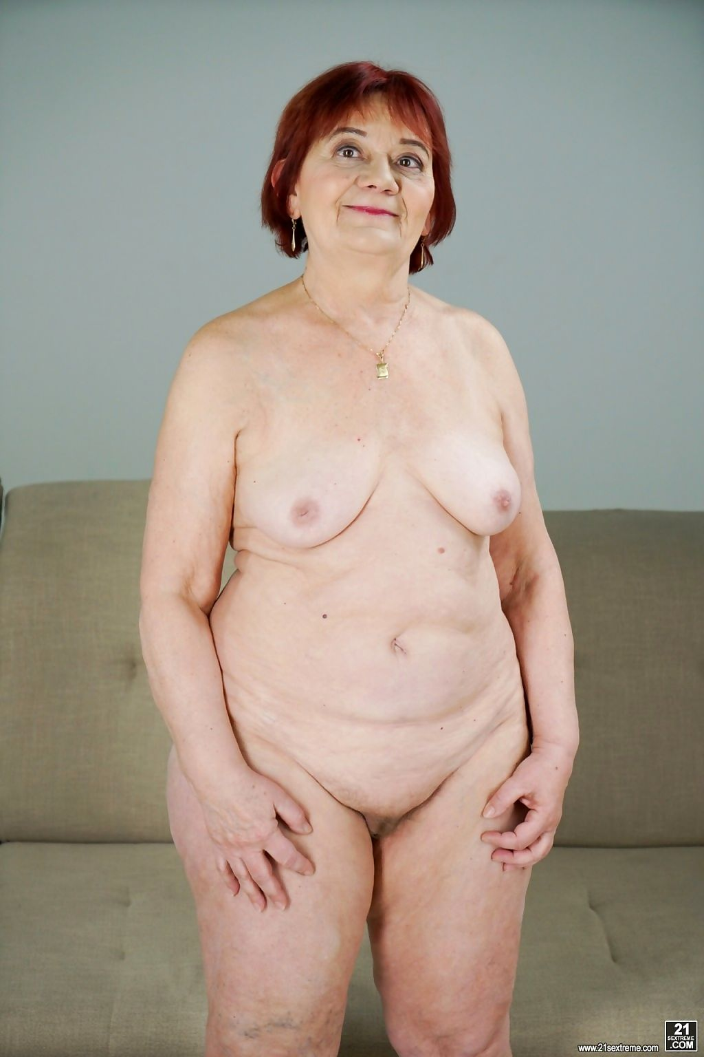 Redheaded granny wants some cock - part 203