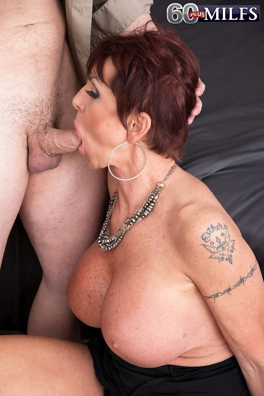 Mature lady gina milano opens her mouth wide for a cumshot after fucking - part 1449