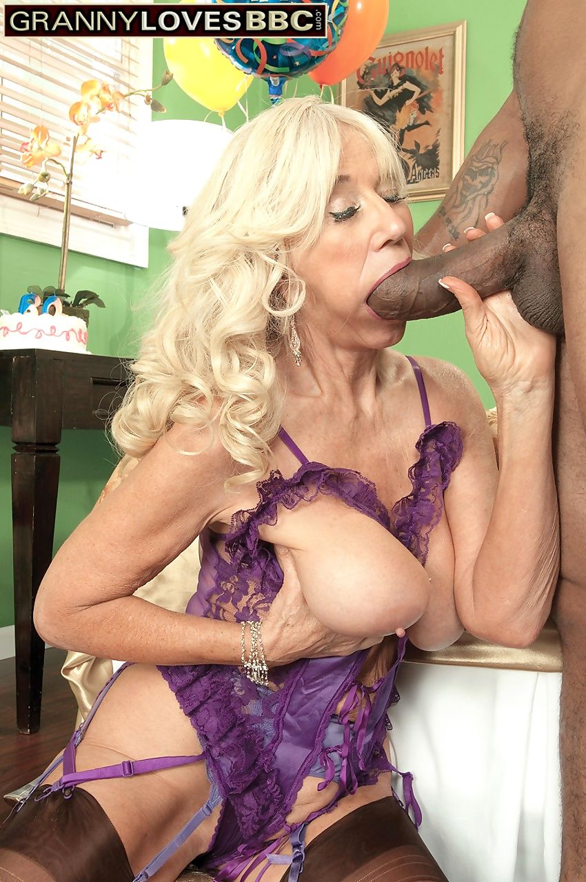 Hot grandmother Summeran Winters lives out her BBC fantasy while she can