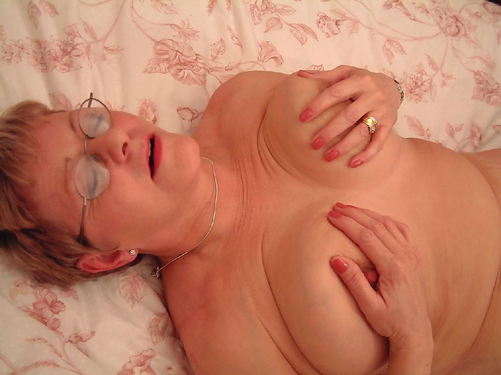 Horny old granny whore craving stiff cock - part 657