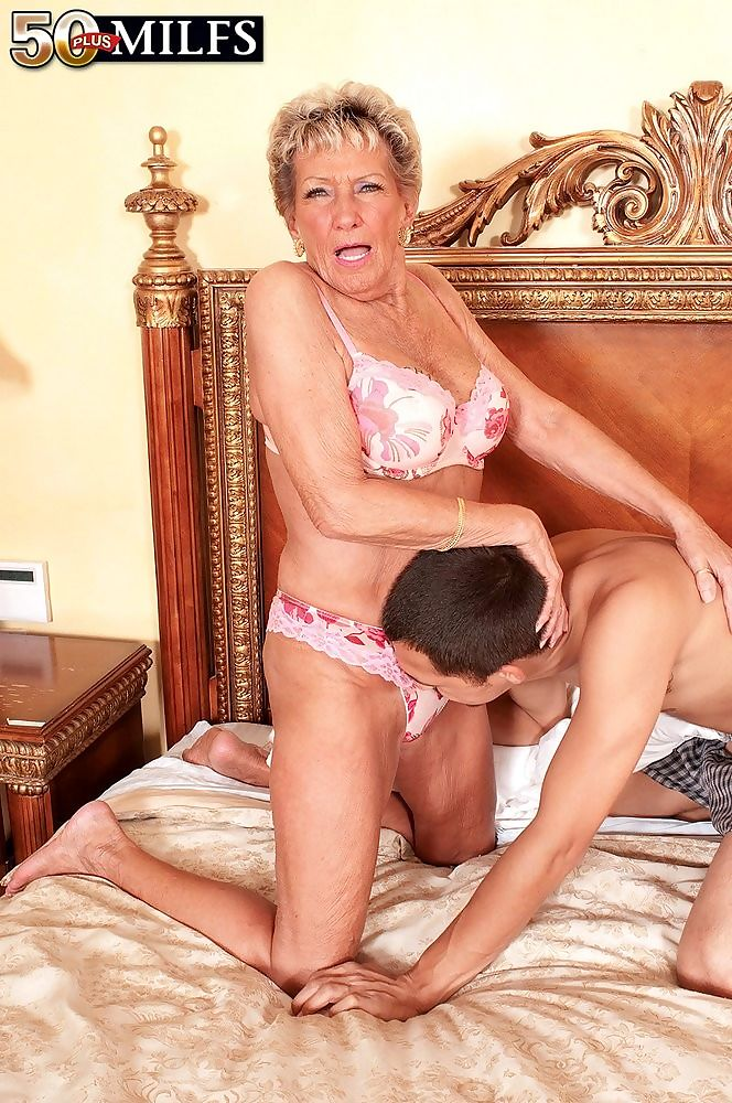 A birthday facial for old granny sandra ann - part 3854