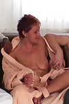 Tempting mature babe gives them champagne and then gives up her old body - part 2706