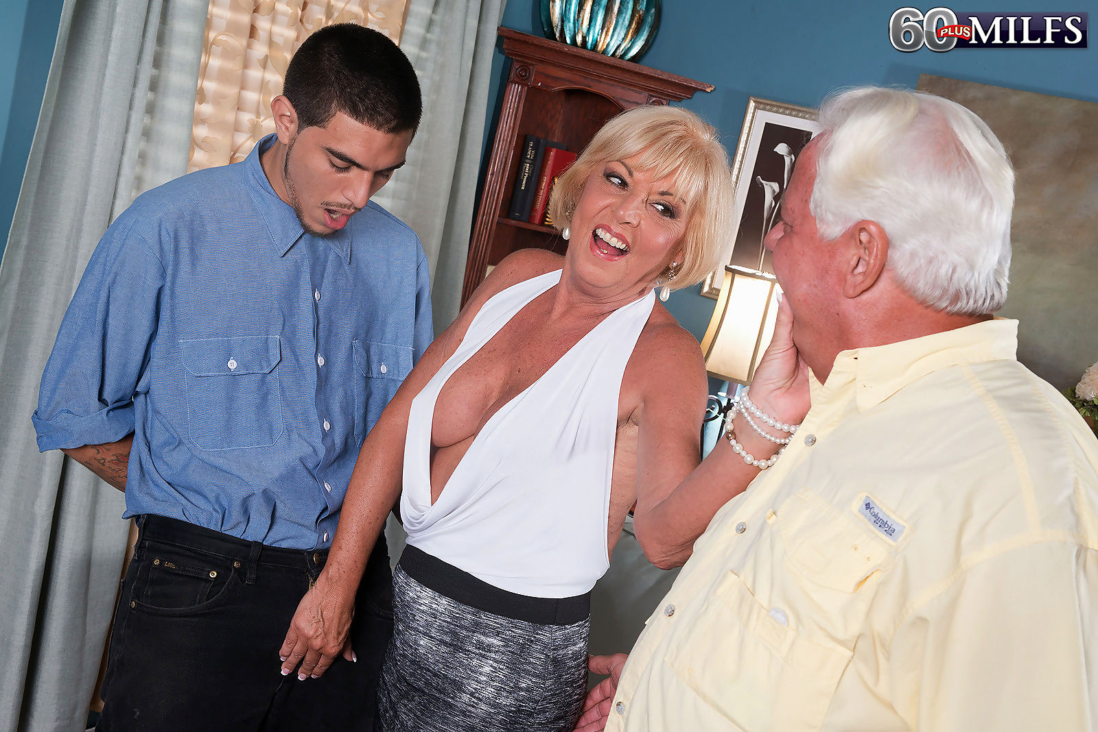Granny wife cheating in cuckold sex action - part 3315