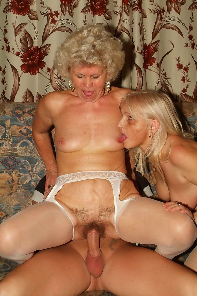 Two horny grannies in hot action - part 659