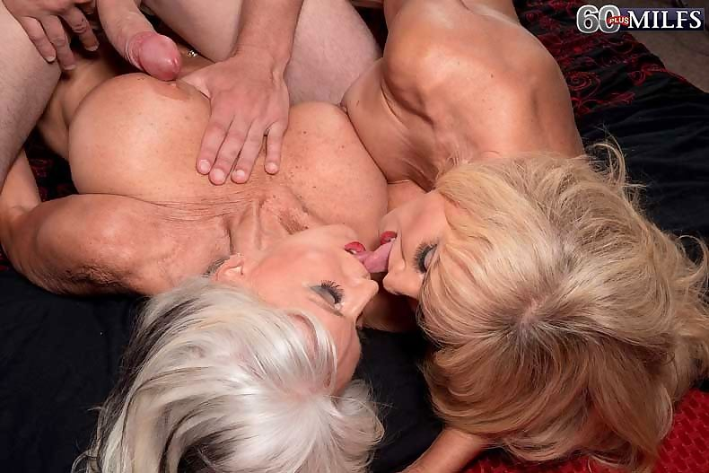 Lucky guy gets to fuck these two gorgeous 60milfs - part 464