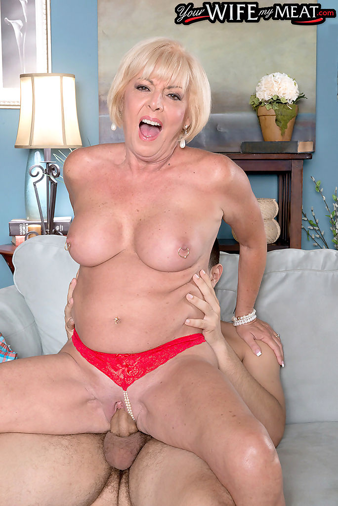 Blonde granny hard fucked in crazy cuckold porn - part 1277