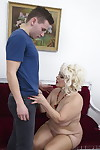 Naughty mature bbw playing with her toyboy - part 603