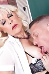 Sexy blond granny teacher in action fucking hard - part 2081