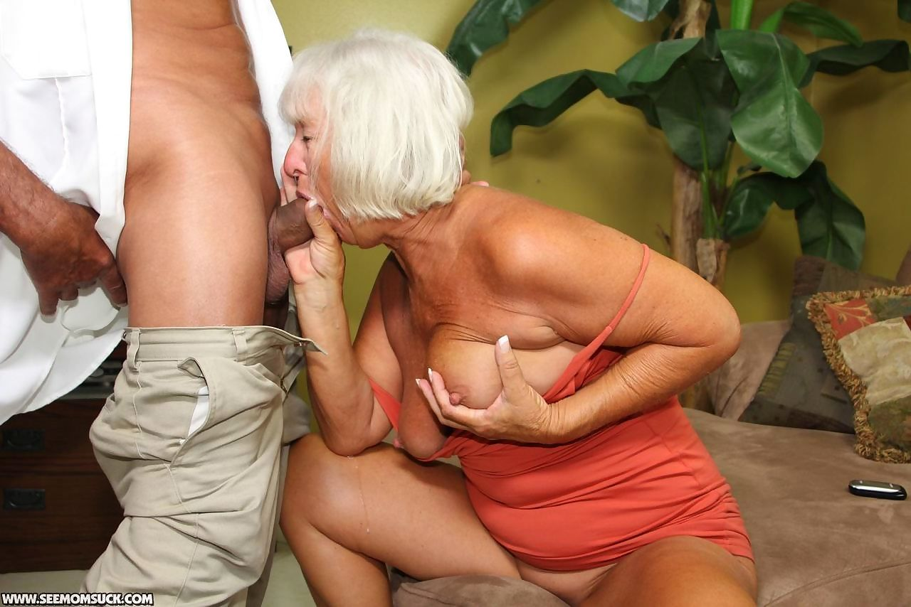 Granny Sucks Grandson